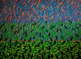 "<h5>""Garden IX"", 2013, 130x180cm</h5>"