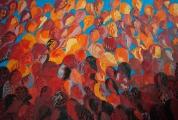 """<h5>""""Garden VII"""", 2012, 150x220cm</h5>"""