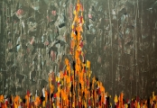 "<h5>""Fire VI"", 2012, 90x130cm</h5>"