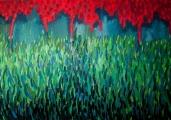 """<h5>""""Garden VI"""", 2012, 140x200cm</h5>"""