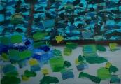 """<h5>""""Dynamic landscape"""", 2008, 64x84cm</h5>"""
