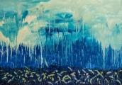<h5>&quot;Rain&quot;, 2012, 140x200cm</h5>